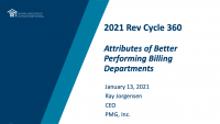Attributes of Better Performing Billing Departments icon