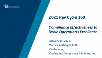 Compliance Effectiveness to Drive Operations Excellence icon