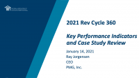 Key Performance Indicators and Case Study Review icon