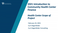 Health Center Scope of Project icon