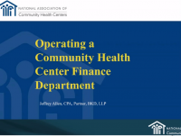 Operating a CHC Finance Department icon