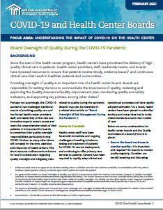 Board Oversight of Quality During the COVID-19 Pandemic