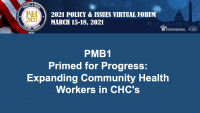 Primed for Progress: Expanding Community Health Workers in CHCs