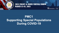 Supporting Special Populations During COVID-19