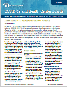 Audit Considerations Related to the COVID-19 Pandemic