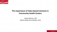 The Importance of Value-Based Contracts in Community Health Centers