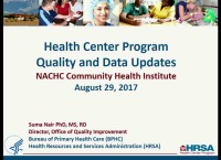 BPHC Update: Part One - Quality, Data, and FTCA