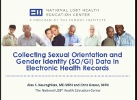 Using the Electronic Health Record to Address LGBT Disparities in Primary Care