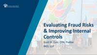 Evaluating Fraud Risks and Improving Internal Controls