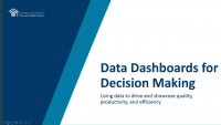 Data Dashboards for Decision-Making