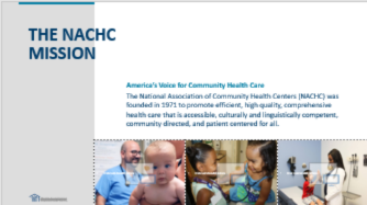 Establishing PACE Sites through Health Centers: Financial Considerations