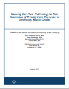 Growing Our Own: Cultivating the Next Generation of Primary Care Physicians in Community Health Centers