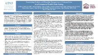 Examining Patient and Provider Perspectives of Telemedicine in a Community Health Clinic Setting icon