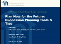 Plan Now for the Future: Succession Planning Tools and Tips for Boards and Health Center Teams