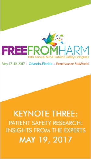 Keynote Three: Patient Safety Research