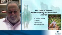 Session 4: Our Love of Horses: Understanding the Therapeutic Value of Animals in our Lives