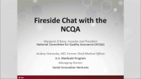 Fireside Chat with the NCQA