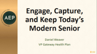 Engage, Capture, and Keep Today's Modern Senior icon