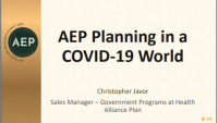 AEP Planning in a COVID World icon