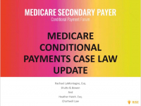 Medicare Secondary Payer Conditional Payments Case Law Update