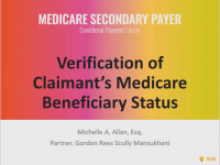 Verification of Claimant's Medicare Beneficiary Status