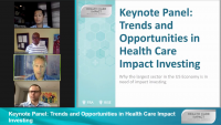 Keynote Panel: Trends and Opportunities in Health Care Impact Investing icon