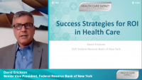 Success Strategies for ROI in Health Care