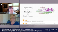 Workshop A: HCC Coding 201 – Leading and Implementing HCC Coding and Documentation Programs
