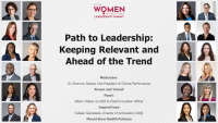 Path to Leadership: Keeping Relevant and Ahead of the Trend