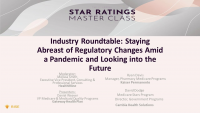 Industry Roundtable: Staying Abreast of Regulatory Changes Amid a Pandemic and Looking into the Future