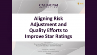 Aligning Risk Adjustment and Quality Efforts to Improve Star Ratings