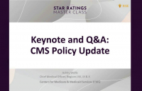 Keynote and Q&A: CMS Policy Update