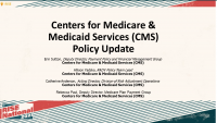 Centers for Medicare & Medicaid Services (CMS) Policy Update