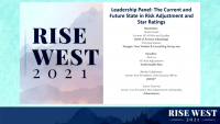 Leadership Panel: The Current and Future State in Risk Adjustment and Star Ratings icon