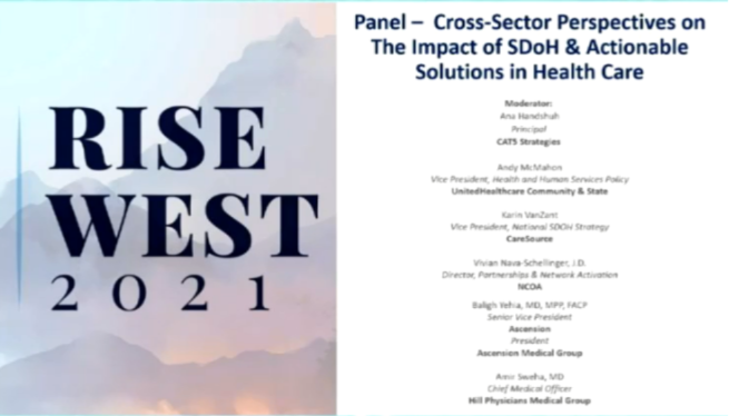 Cross-Sector Perspectives on The Impact of SDoH & Actionable Solutions in Health Care and Closing Remarks