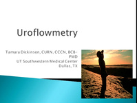Basic Urodynamics: Uroflowmetry