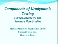 Basic Urodynamics: Filling Cystometry/Basic Urodynamics: Pressure Flow Study
