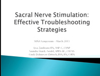 Sacral Nerve Stimulation: Effective Troubleshooting Strategies
