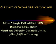 Male Sexual Health and Reproduction