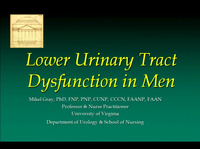 Urodynamics and Male LUT Dysfunction