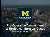 Pre-Operative Assessment of Urological Surgical Cases