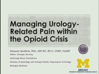 Managing Urology-Related Pain within the Opioid Crisis
