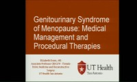 Genitourinary Syndrome of Menopause: Medical Management and Procedural Therapies