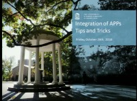 Integration of APP's Tips and Tricks Panel