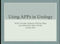 """Do You have a Smartphone?"" The Use of Technology for Management of Urology Patients"