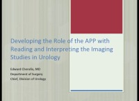 Developing the Role of the APP with Reading and Interpreting the Imaging Studies in Urology