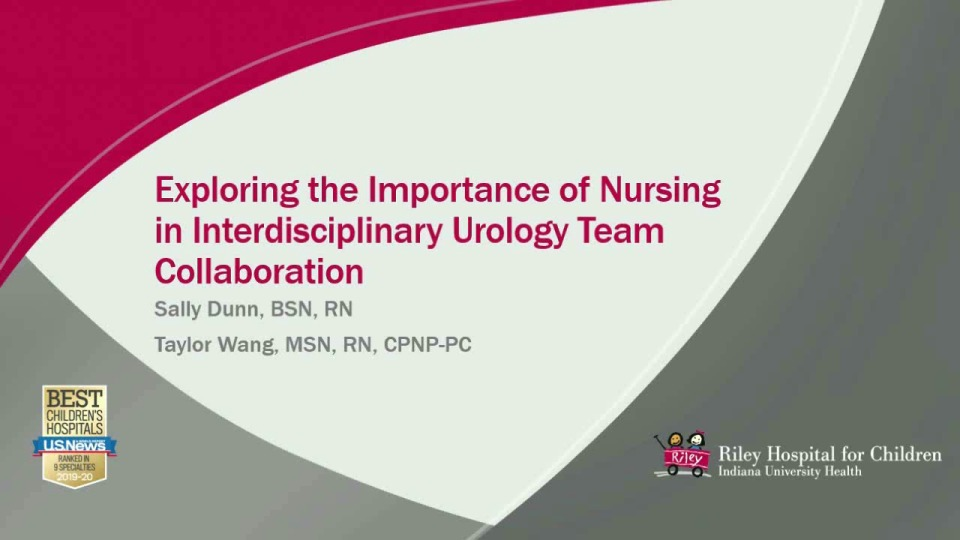 Exploring the Role of Nursing in Interdisciplinary Urology Team Collaboration