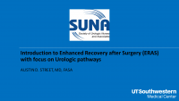 Introduction to Enhanced Recovery After Surgery (ERAS) Protocols