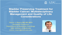 Bladder Preserving Treatment for Bladder Cancer: Multidisciplinary Management and Quality of Life Consideration