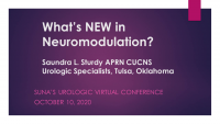 What's New in Neuromodulation?